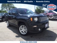 New, 2019 Jeep Renegade Latitude, Black, JK500-1