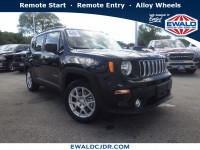 New, 2019 Jeep Renegade Latitude, Black, JK501-1