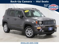 Certified, 2019 Jeep Renegade Latitude, Gray, NA54017-1