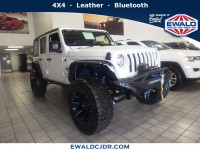 New, 2019 Jeep Wrangler Unlimited Sport S, White, JK325-1