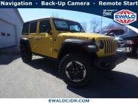 New, 2019 Jeep Wrangler Unlimited Rubicon, Yellow, JK357-1