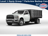 New, 2019 Ram 3500 Chassis Cab Tradesman, White, DK438-1