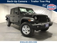 New, 2020 Jeep Gladiator Sport S, Black, JL114-1