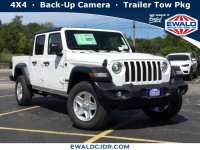 New, 2020 Jeep Gladiator Sport S, White, JL154-1