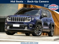 New, 2020 Jeep Renegade Latitude, Black, JL509-1