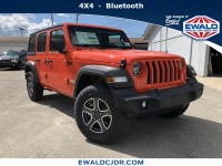 New, 2020 Jeep Wrangler Unlimited Sport S, Orange, JL126-1