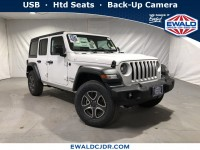 New, 2020 Jeep Wrangler Unlimited Sport S, White, JL269-1