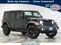 New, 2020 Jeep Wrangler Unlimited Sport Altitude, Black, JL300-1
