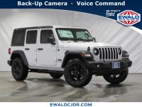 New, 2020 Jeep Wrangler Unlimited Sport Altitude, White, JL318-1