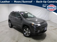 New, 2021 Jeep Cherokee Limited, Gray, JM269-1