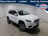 New, 2021 Jeep Cherokee Limited, White, JM272-1