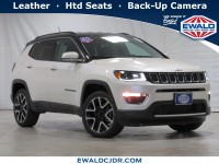 New, 2021 Jeep Compass Limited, White, JM127-1