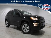 New, 2021 Jeep Compass Latitude, Black, JM185-1