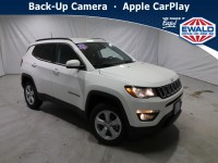 New, 2021 Jeep Compass Latitude, White, JM208-1