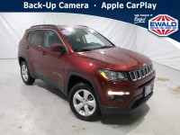 New, 2021 Jeep Compass Latitude, Red, JM222-1