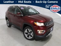 New, 2021 Jeep Compass Limited, Red, JM229-1