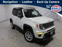 New, 2021 Jeep Renegade Limited, White, JM138-1