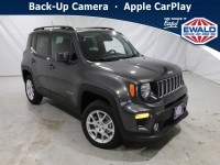 New, 2021 Jeep Renegade Latitude, Gray, JM174-1