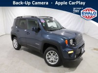 New, 2021 Jeep Renegade Latitude, Blue, JM175-1