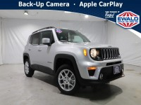New, 2021 Jeep Renegade Latitude, White, JM177-1
