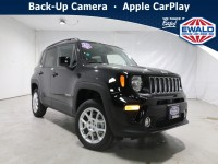 New, 2021 Jeep Renegade Latitude, Black, JM179-1