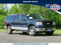 Used, 2006 Ford F-150 XLT, Blue, CN1610A-1