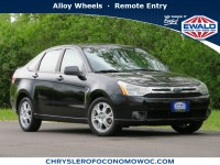 Used, 2008 Ford Focus 4-door Sedan SES, Black, C20J175A-1