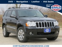 Used, 2009 Jeep Grand Cherokee Limited, Black, CN1728A-1