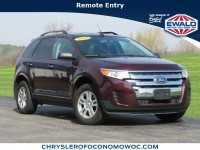 Used, 2011 Ford Edge 4-door SE FWD, Red, CN1611A-1
