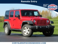 Used, 2011 Jeep Wrangler Unlimited Sport, Red, C21J11A-1