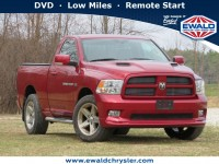 Used, 2011 Ram 1500 Sport 4x4, Red, C20J317B-1