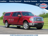 Used, 2012 Ford F-150 Lariat, Red, D20D36B-1