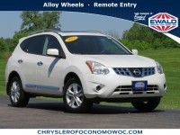 Used, 2012 Nissan Rogue SV, White, C20J169A-1