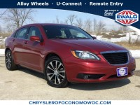 Used, 2013 Chrysler 200 Touring, Red, CN1646-1