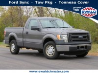 Used, 2013 Ford F-150 XL, Gray, CN1966A-1