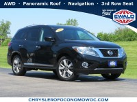 Used, 2013 Nissan Pathfinder Platinum, Black, C20J207A-1