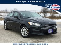 Used, 2014 Ford Fusion SE, Black, CN1617A-1