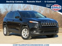 Used, 2014 Jeep Cherokee Latitude, Black, C20J163A-1