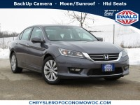 Used, 2015 Honda Accord EX-L, Gray, C20J148A-1
