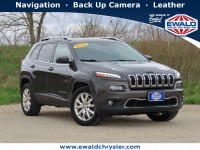Used, 2015 Jeep Cherokee Limited 4X4, Gray, CN2113-1