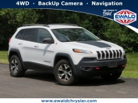 Used, 2015 Jeep Cherokee Trailhawk, White, CN1921A-1