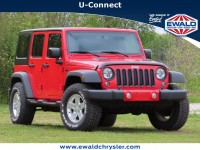 Used, 2015 Jeep Wrangler Unlimited Sport, Red, C21J146B-1
