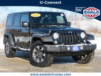 Used, 2015 Jeep Wrangler Unlimited Sport S 4X4, Black, CN2034A-1