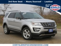 Used, 2016 Ford Explorer XLT, Silver, CP1825-1