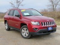 Certified, 2016 Jeep Compass Sport, Red, CN1826-1