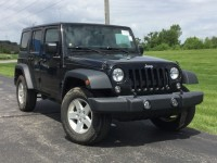 Certified, 2016 Jeep Wrangler Unlimited Sport, Black, CN1710-1