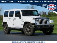 Used, 2016 Jeep Wrangler Unlimited 75th Anniversary, White, CN1982A-1