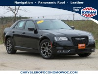 Certified, 2017 Chrysler 300 300S, Black, CN1877-1
