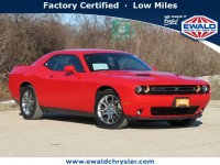 Certified, 2017 Dodge Challenger GT AWD, Red, C20J317A-1