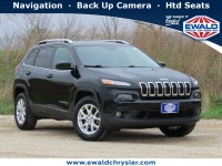 Used, 2017 Jeep Cherokee Latitude 4x4, Black, C21J9A-1